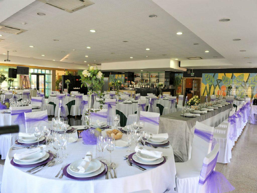 sala de cima decoração casamento